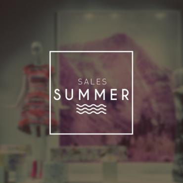 Αυτοκόλλητα εκπτώσεων Summer 705